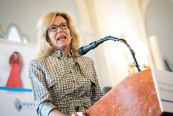 13 September 2017, New York, USA: On Gathering at the Yale Club in New York on 13 September for an interfaith prayer breakfast, faith leaders from a multitude of religions came together to support a coordinated faith-based effort in responding to HIV. The event was hosted by the World Council of Churches–Ecumenical Advocacy Alliance (WCC-EAA) in collaboration with UNAIDS, the United States President's Emergency Plan for AIDS Relief and the United Nations Interagency Task Force on Religion and Development on the side-lines of the 72nd session of the United Nations General Assembly. Here, U.S. ambassador-at-large Deborah L. Birx, M.D., coordinator of the United States Government Activities to Combat HIV/AIDS and U.S. Special Representative for Global Health Diplomacy.