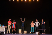 """Chorus Play """"Un petit jeu sans conséquence"""" in Youth Square Theatre, Hong Kong, China, on 2 June 2021. Photo by Kam Wong/Studio EAST"""