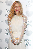 Maryam d'Abo, Chain of Hope Gala Ball, Grosvenor House, London UK, 20 November 2015, Photo by Brett D. Cove