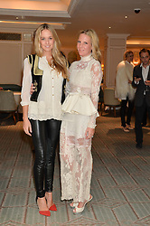 Left to right, FLORENCE BRUDENELL-BRUCE and ALICE NAYLOR-LEYLAND at the launch of Mrs Alice in Her Palace - a fashion retail website, held at Fortnum & Mason, Piccadilly, London on 27th March 2014.