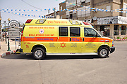 New Magen David Adom Mobile Intensive Care Unit