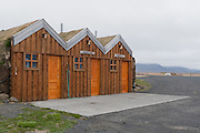 Petrol station at Modradalur, Iceland