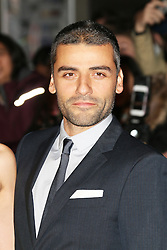 © Licensed to London News Pictures. 15/10/2013, UK. Oscar Isaac, The BFI London Film Festival: Inside Llewyn Davis, Odeon Leicester Square, London UK, 15 October 2013. Photo credit : Richard Goldschmidt/Piqtured/LNP