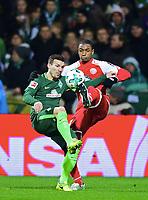 v.l. Jerome Gondorf, Abdou Diallo (Mainz)<br /> Bremen, 16.12.2017, Fussball Bundesliga, SV Werder Bremen - 1. FSV Mainz 05<br /> Norway only