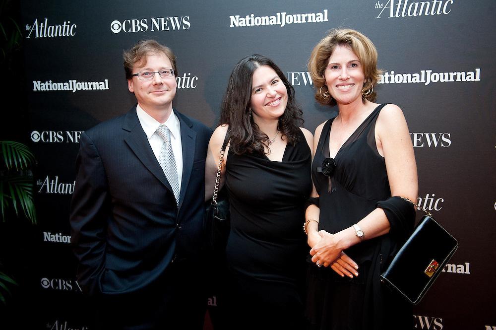 2012 WHCD Photos - National Journal, CBS News and The Atlantic's Pre-Dinner Cocktail Reception.