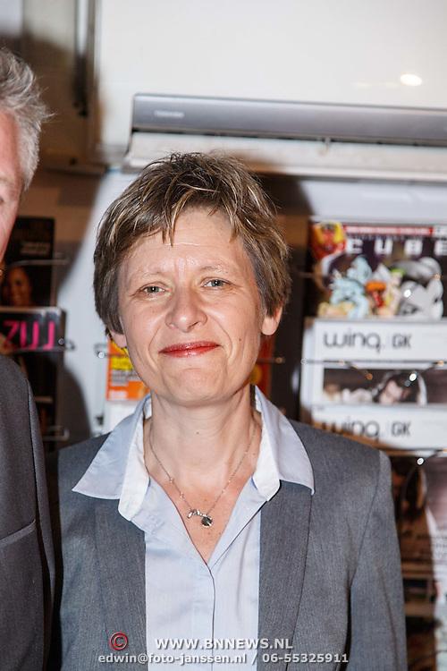 NLD/Amsterdam/20150326 - Boekpresentatie de Roze Moorden, voorzitter van COC Nederland Tanja Ineke