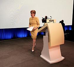 SNP Spring Conference, Sunday 28th April 2019<br /> <br /> Pictured: First Minister Nicola Sturgeon <br /> <br /> Alex Todd   Edinburgh Elite media