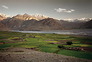 Sarhad village, the end of the Wakhan Valley and the beginning of the real trek into the Little Pamir.<br /> <br /> Adventure through the Afghan Pamir mountains, among the Afghan Kyrgyz and into Pakistan's Karakoram mountains. July/August 2005. Afghanistan / Pakistan.