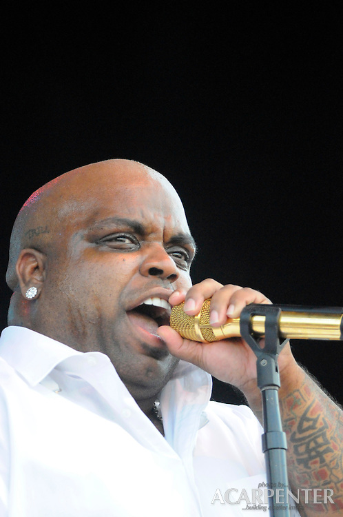Cee-Lo Green ( Thomas Callaway ) of Gnarls Barkley performs at the New American Music Union in Pittsburgh, PA on August 9, 2009.