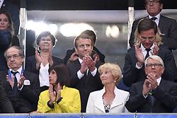 August 31, 2017 - Saint Denis, France - EMMANUEL MACRON - Mark Rutte (PREMIER MINISTRE DES PAYS BAS) - NOEL LE GRAET  (Credit Image: © Panoramic via ZUMA Press)