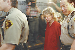 February 6, 1998 - Kent, Washington, U.S. - MARY KAY LETOURNEAU, 36, is brought into a King County courtroom. Vili and her son are suing for  million, claiming neither the Des Moines police, nor the Highline School District staff did enough to prevent a sexual relationship between Vili Fualaau and his then sixth-grade teacher. (Credit Image: © Marcus R. Donner/King County Journal/ZUMA Wire)