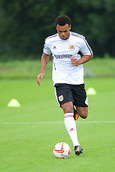 Bristol City's Amadi Holloway - Photo mandatory by-line: Dougie Allward/JMP - Tel: Mobile: 07966 386802 28/06/2013 - SPORT - FOOTBALL - Bristol -  Bristol City - Pre Season Training - Npower League One