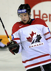 Dany Heatley (15) of Canada celebrates his second goal at ice-hockey game Canada vs Finland at Qualifying round Group F of IIHF WC 2008 in Halifax, on May 12, 2008 in Metro Center, Halifax, Nova Scotia, Canada. Canada won 6:3. (Photo by Vid Ponikvar / Sportal Images)
