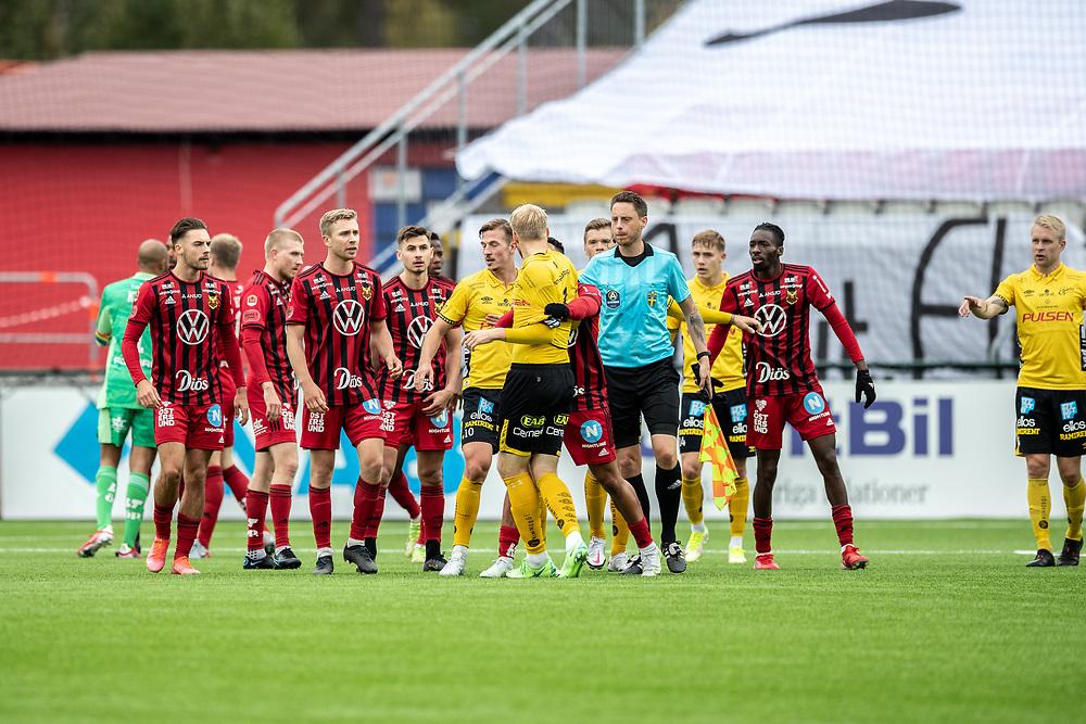 ÖSTERSUND 20210919<br />  under söndagens fotbollsmatch i allsvenskan mellan Östersunds FK och IF Elfsborg på Jämtkraft Arena.<br /> Foto: Per Danielsson / TT / kod 11910