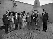 24/08/1984<br /> 08/24/1984<br /> 24 August 1984<br /> Opening of ROSC '84 at the Guinness Store House, Dublin. Some of the attendees at the opening of the ROSC '84 art exhibition.
