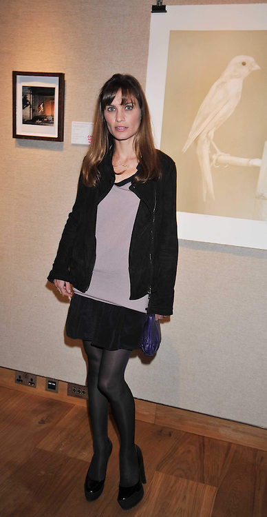 SHEHERAZADE GOLDSMITH at fundraising dinner and auction in aid of Liver Good Life a charity for people with Hepatitis held at Christies, King Street, London on 16th September 2009.