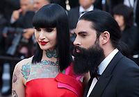 Eloïse Von Velvet and David Michigan at the closing ceremony and The Specials film gala screening at the 72nd Cannes Film Festival Saturday 25th May 2019, Cannes, France. Photo credit: Doreen Kennedy
