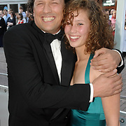 NLD/Amsterdam/20070522 - Premiere Pirates Of The Caribbean 3, Bas Westerweel en dochter Julie