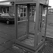 Telefooncel opgeblazen in Aetsveld Weesp