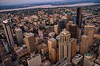 Downtown Seattle & Lake Washington