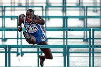 Friidrett<br /> VM 2005 Helsinki<br /> Foto: Dppi/Digitalsport<br /> NORWAY ONLY<br /> <br /> ATHLETICS - IAAF WORLD CHAMPIONSHIPS 2005 - HELSINKI (FIN) - 7/08/2005<br /> <br /> MEN 110M HURDLES - LADJI DOUCOURE (FRA)