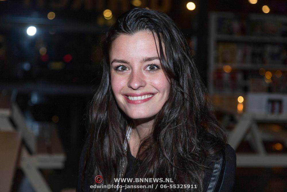 NLD/Amsterdam/20140227 - Boekpresentatie Jeroen van Inkel - Kort Sluiting , Eva Koreman