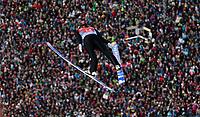 Hopp<br /> FIS World Cup<br /> Garmisch-Partenkirchen Tyskland<br /> 01.01.2014<br /> Foto: Gepa/Digitalsport<br /> NORWAY ONLY<br /> <br /> FIS Weltcup der Herren, Vierschanzen-Tournee. Bild zeigt Anders Jacobsen (NOR).