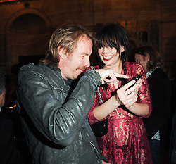 RHYS IFANS and DAISY LOWE at a party to celebrate the 135th anniversary of The Criterion restaurant, Piccadilly, London held on 2nd February 2010.