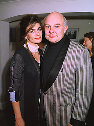 MR & MRS ROLF SACHS he is the son of Gunther Sachs, at a party in London on 24th November 1997.MDP 19