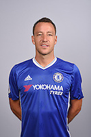 COBHAM, ENGLAND - AUGUST 11: John Terry of Chelsea during the Official Portrait session at Chelsea Training Ground on August 11, 2016 in Cobham, England. (Photo by Darren Walsh/Chelsea FC via Getty Images)