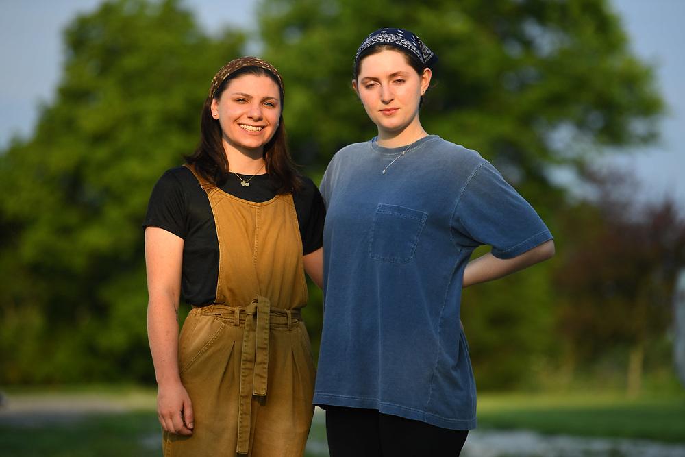 7/6/20 6:53:17 AM  -- Shai Bardin and Carolyn Rogers --    Photo by Jack Gruber