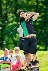 Timo Petrasch of Germany during Slovenia Long Drivers European Tour  Championship on July 5, 2014 in  Golf Arboretum Ljubljana, Volcji Potok, Slovenia. Photo By Vid Ponikvar / Sportida