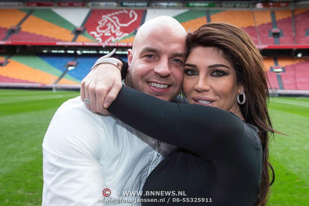 NLD/Amsterdam20140324 - Andy van der Meijde en Melissa Schaufeli