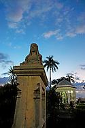 Park in Manzanillo, Granma, Cuba.