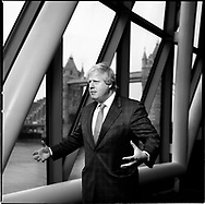 Boris Johnson, British Conservative Party politician, who has served as Mayor of London since 2008. Photographed in London's City Hall, Britain.