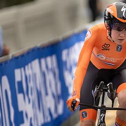 24-09-2020: wielrennen: WK tijdrit vrouwen: Imola<br /> Anna van der Breggen