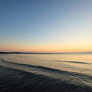 Today's Fall Sunrise  at Narragansett Town Beach, Narragansett, RI,  October  20, 2013. #fall #newengland #rhodeisland #beach #sunrise #waves