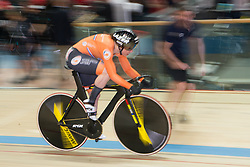 February 28, 2019 - Pruszkow, Poland - Laurine van Riessen (NED) on day two of the UCI Track Cycling World Championships held in the BGZ BNP Paribas Velodrome Arena on February 28, 2019 in Pruszkow, Poland. (Credit Image: © Foto Olimpik/NurPhoto via ZUMA Press)