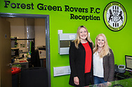 FGR reception during the Vanarama National League match between Forest Green Rovers and Chester FC at the New Lawn, Forest Green, United Kingdom on 14 April 2017. Photo by Shane Healey.