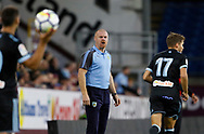 Burnley's Manager Sean Dyche during the Pre-Season Friendly match between Burnley and Celta Vigo at Turf Moor, Burnley, England on 1 August 2017. Photo by Paul Thompson.