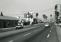 1972 Looking west from Sunset Blvd. & Orange Dr.
