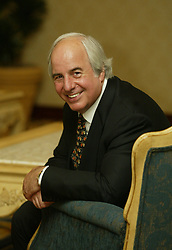 June 10, 2004 - U.S. - NO MAGS, NO SALES -- KRT US NEWS STORY SLUGGED: SWINDLER KRT PHOTO BY ANA VENEGAS/ORANGE COUNTY REGISTER (LA TIMES OUT) (June 29) Frank Abagnale Jr., whose exploits as a con man were made famous in ''Catch Me If You Can,'' advises businesses on fraud schemes -- some that he created. He is shown in Santa Ana, California, on June 10, 2004. (gsb) 2004 (Credit Image: © Orange County Register/TNS/ZUMAPRESS.com)