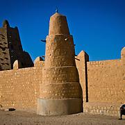 Sankore mosque.Built in 15th-16th centuries . Timbuktu city. Timbuktu region. Mali.