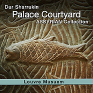 Assyrian Dur Sharrukin Palace North Courtyard  Relief Sculptures - Louvre Museum - Pictures & Images