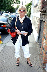 CAROL THATCHER at Sir David & Lady Carina Frost's annual summer party held in Carlyle Square, London on 6th July 2004.