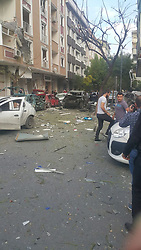 At least ten people were wounded in an explosion near a police station in the Yenibosna neighborhood of Istanbul on the afternoon of Oct. 6,. Istanbul Governor Vasip tweeted that the blast was caused by the detonation of a bomb-laden motorcycle. Witnesses said one person wearing a black coat, jeans and black helmet fled the scene just before the blast.The police hunt for the suspect is ongoing on main routes across the city, along with searches on public buses and metrobuses in Istanbul, Turkey on october 6, 2016. Photo by Depo Photos/ABACAPRESS.COM