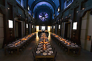 Global Media were received at One Icon, the home of Oakley Inc, for a dinner event. Attendees had the opportunity to partake in Oakley's custom program where each person customized a pair of Oakley eyewear which was then assembed for them to take home. Images by BeadlePhoto/Oakley