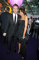 Patrick Kielty and Claudia Winkleman at the 2009 Glamour Magazine Awards held in Berkeley Square, London on 2nd June 2009.