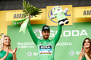 Podium, Peter Sagan (SVK - Bora - Hansgrohe) Green jersey, during the 105th Tour de France 2018, Stage 8, Dreux - Amiens Metropole (181km) on July 14th, 2018 - Photo Luca Bettini / BettiniPhoto / ProSportsImages / DPPI