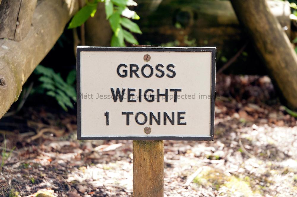 Gross Weight Sign